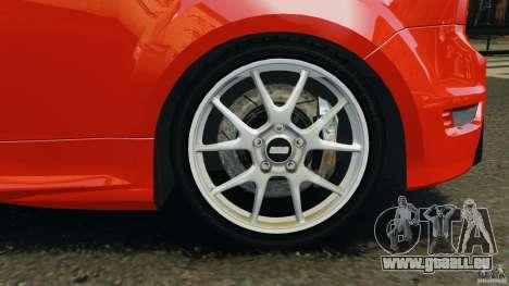 Ford Focus RS pour GTA 4 est une vue de dessous