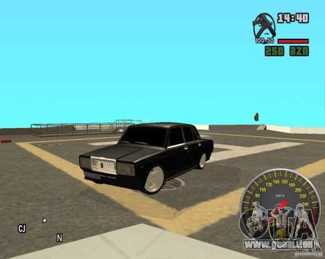 VAZ 2107 DuB pour GTA San Andreas