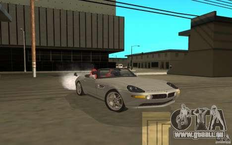 BMW Z8 pour GTA San Andreas sur la vue arrière gauche