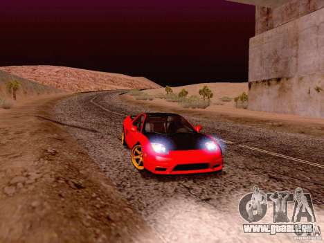 Acura NSX Stance Works für GTA San Andreas linke Ansicht