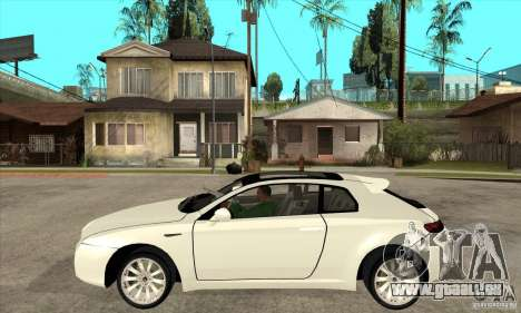 Alfa Romeo Brera pour GTA San Andreas laissé vue