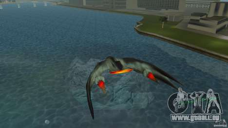 VX 574 Falcon pour une vue GTA Vice City de la droite