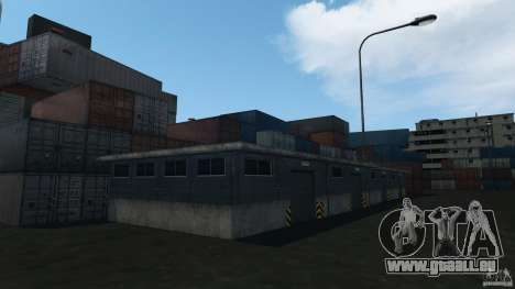 Tokyo Docks Drift für GTA 4 achten Screenshot