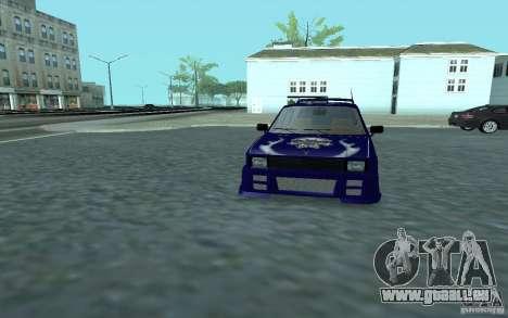 Yugo 45 Tuneable pour GTA San Andreas vue de côté
