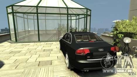 Audi S4 Quattro pour GTA 4 Vue arrière de la gauche