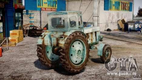 Traktor T-40 m für GTA 4 Seitenansicht