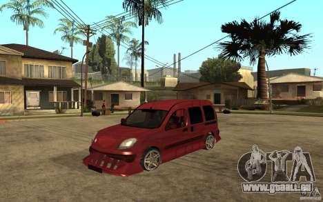 Renault Kangoo Tuning für GTA San Andreas