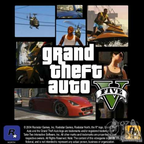 GTA 5 LoadScreens für GTA San Andreas her Screenshot