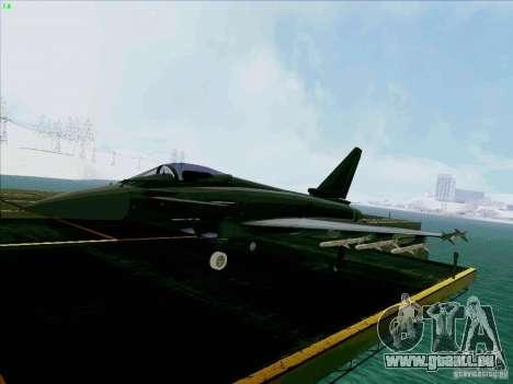 Eurofighter-2000 Typhoon pour GTA San Andreas