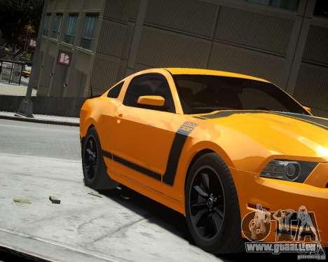 Ford Mustang Boss für GTA 4 linke Ansicht