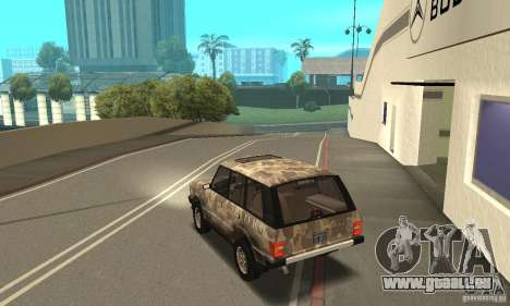 Range Rover County Classic 1990 pour GTA San Andreas roue