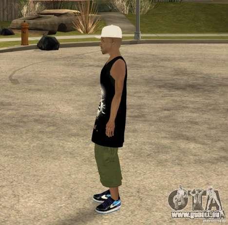 Cone Crew Skin pour GTA San Andreas troisième écran