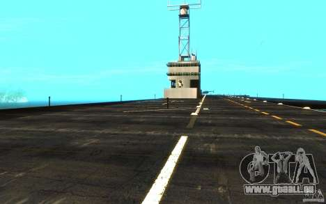 New Aircraft carrier für GTA San Andreas Innenansicht