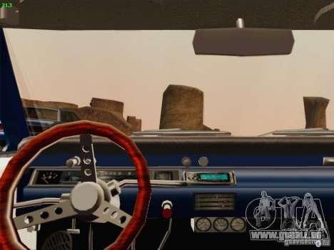 Chevrolet Chevelle pour GTA San Andreas vue de côté