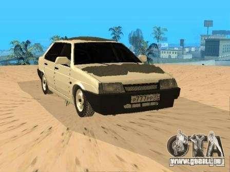 VAZ 21099 hiver pour GTA San Andreas