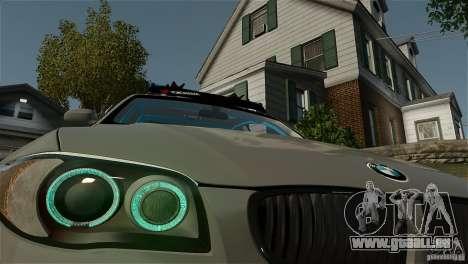 BMW 135i HellaFush für GTA 4 hinten links Ansicht