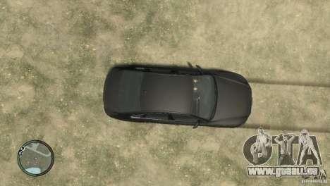 Audi A8 V8 FSI pour GTA 4 Vue arrière