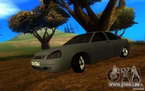 VAZ Lada Priora 2170 für GTA San Andreas