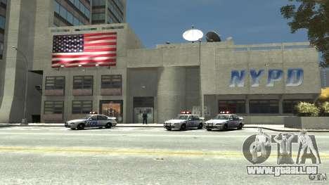 Remake police station pour GTA 4