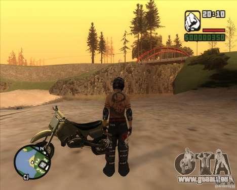 Le coureur du combustible pour GTA San Andreas troisième écran