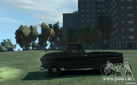 Chevrolet Apache Fleetside 1958 für GTA 4 linke Ansicht