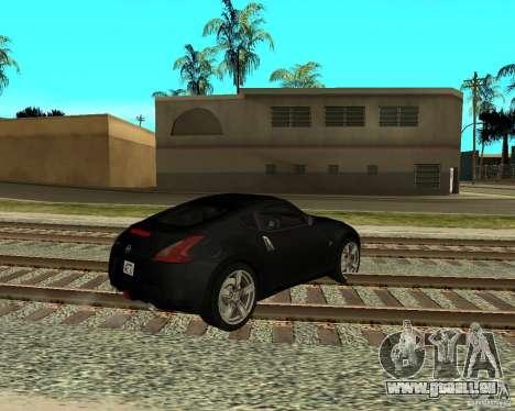 Nissan 370Z v2.0 pour GTA San Andreas vue de droite