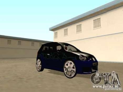 Volkswagen Golf V GTI pour GTA San Andreas vue arrière