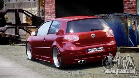 Volkswagen Golf GTI 2006 v1.0 für GTA 4 hinten links Ansicht