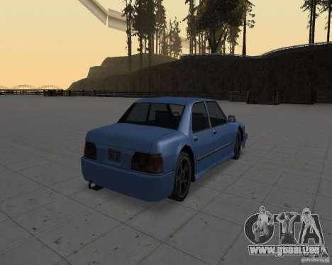 Machines sans saleté pour GTA San Andreas quatrième écran