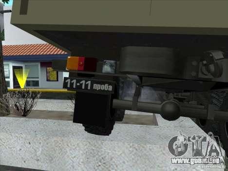 GAZ 34 pour GTA San Andreas vue intérieure