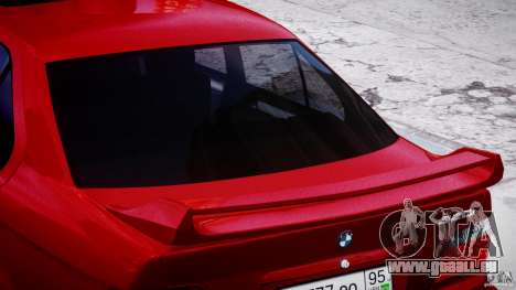 BMW 318i Light Tuning v1.1 pour GTA 4