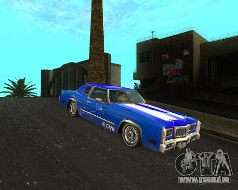 Cadillac Eldorado für GTA San Andreas Seitenansicht