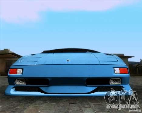 Lamborghini Diablo SV V1.0 für GTA San Andreas Motor