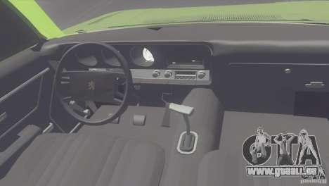 Peugeot 504 für GTA San Andreas rechten Ansicht