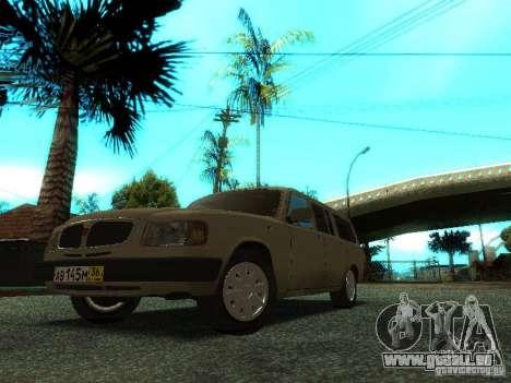 GAZ Volga 310221 Wagon pour GTA San Andreas laissé vue