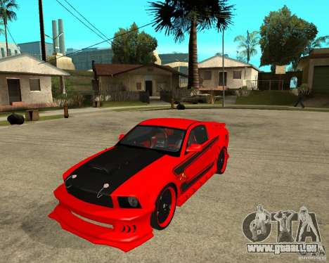 Ford Mustang Red Mist Mobile für GTA San Andreas
