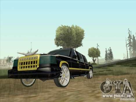 Limousine pour GTA San Andreas laissé vue