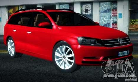 Volkswagen Passat B7 2012 pour GTA San Andreas