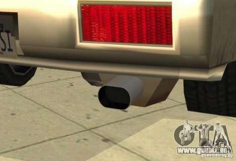 Car Tuning Parts pour GTA San Andreas onzième écran