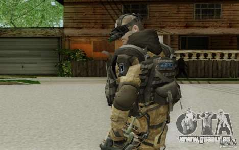 Ein Ingenieur aus Warface für GTA San Andreas dritten Screenshot
