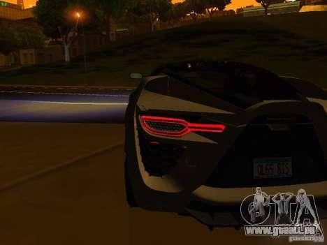 Bertone Mantide für GTA San Andreas Motor