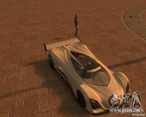 Mazda Furai für GTA 4 hinten links Ansicht