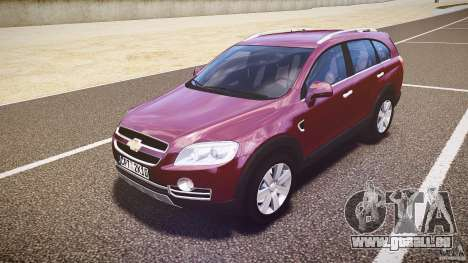 Chevrolet Captiva 2010 Final für GTA 4 linke Ansicht