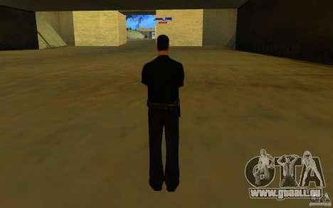 HQ skin lapd1 pour GTA San Andreas deuxième écran
