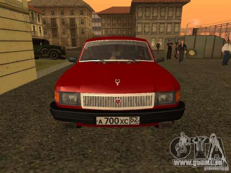 Volga GAZ 31029 Sl pour GTA San Andreas laissé vue