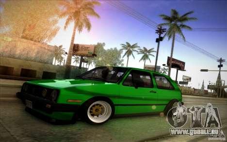 VW Golf MK2 Stanced pour GTA San Andreas