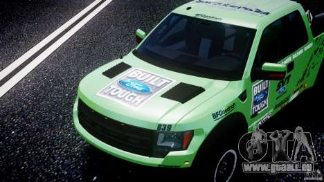 Ford F150 Racing Raptor XT 2011 pour GTA 4