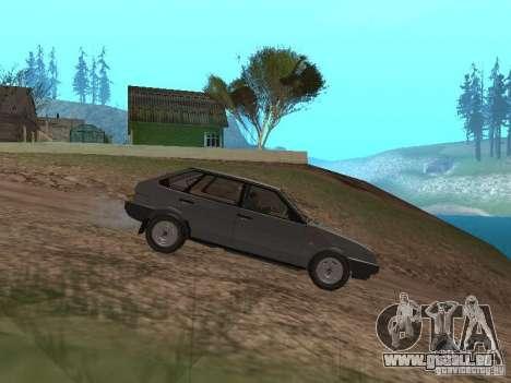 Vaz-2109 Spoutnik 1987 v1.2 pour GTA San Andreas laissé vue