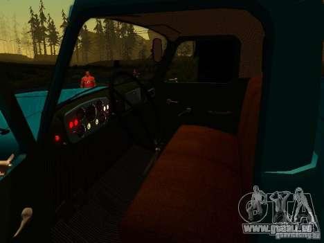 GAZ 53 pour GTA San Andreas vue de côté