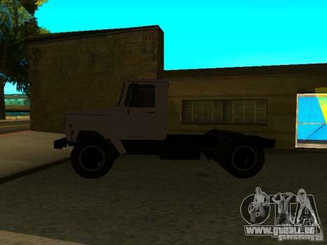 3309 GAZ tracteur pour GTA San Andreas laissé vue